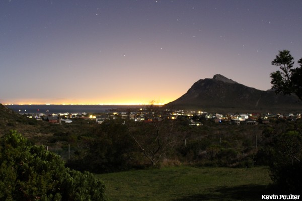 Pringle Bay at Night